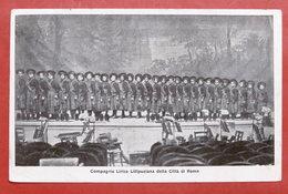 Cartolina Teatro - Compagnia Lirica Lillipuziana Della Città Di Roma - 1920 Ca. - Cartoline