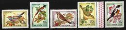 SOWJETUNION - Mi-Nr. 5103 - 5107 Singvögel Postfrisch - 1923-1991 UdSSR