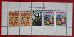 Surinam / Suriname 2007 Minisheet Kind + Kerst Weihnachten Noel Christmas  (ZBL 1490-1491 Mi 2162-2163) POSTFRIS  MNH ** - Surinam