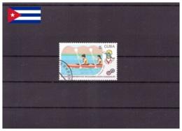 Cuba 1990 - Oblitéré - Aviron - Michel Nr. 3442 (cub364) - Cuba