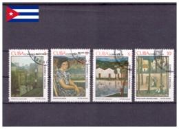 Cuba 1979 - Oblitéré - Peinture - Michel Nr. 2404-2407 (cub331) - Cuba