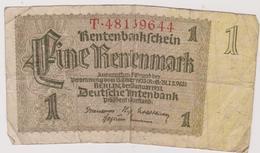 Allemagne Billet Allemand Iii E Reich - [ 4] 1933-1945 : Tercer Reich