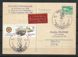 Alemania. Expreso Cancelación De Stassfurt. - [6] República Democrática
