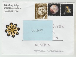 2015 ?  -  USA/Florida   - Brief / Bedarfsbeleg    - O Gestempelt - S. Scans (us 2069) - Briefe U. Dokumente