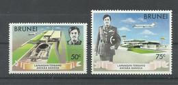 BRUNEI  YVERT  190/91    MNH  ** - Brunei (1984-...)