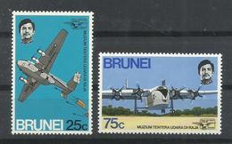 BRUNEI  YVERT  180/81    MNH  ** - Brunei (1984-...)