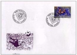 LIECHTENSTEIN - 5 3 1990 FDC COPPA MONDO DI CALCIO - Coppa Del Mondo