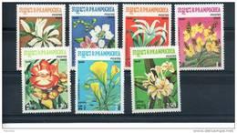 Kampuchéa. Fleurs. Série De 7 Timbres Neufs ** - Kampuchea