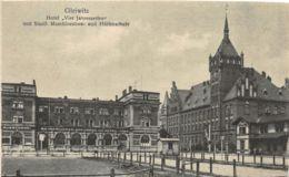 Gleiwitz (Pologne) - Hotel Vier Jahreszeiten Und Staatl. Maschinenbau - Pologne