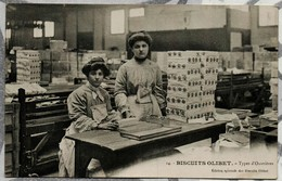 BISCUITS OLIBET Types D'Ouvrières - Commerce