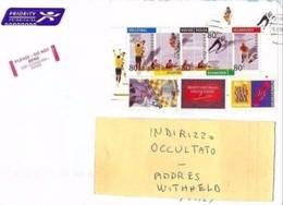 OLANDA - BUSTA / AFFRANCATURA  FOGLIETTO GIOCHI OLIMPICI BARCELLONA ED ALTRI - Estate 1992: Barcellona