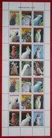 Surinam / Suriname 2007 Birds Vogels Oiseaux Pajaros Papegaai Parrot Papagei (ZBL 1449-1457 Mi 2120 ) POSTFRIS / MNH ** - Surinam