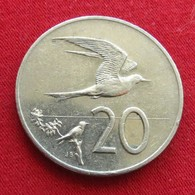 Cook Islands 20 Cents 1992 KM# 35 - Cook