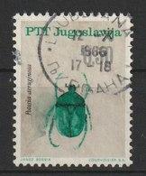 MiNr. 1159 Jugoslawien  / 1966, 25. Mai. Insekten. - 1945-1992 Socialist Federal Republic Of Yugoslavia