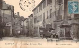 83 - Le Luc - Le Collège De Jeunes Filles (autobus Du Luc à La Gare) - Le Luc