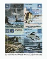 VP4L9 TAAF FSAT Antarctique Antarctic Neuf°° MNH Bloc 5 Bande Dessinée Faune 2001 - Blocs-feuillets