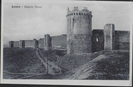 LUCERA - CASTELLO SVEVO - FORMATO PICCOLO - EDIZ. PESCE LUCERA - NUOVA - Castelli