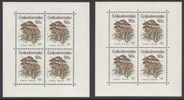 Tschechoslowakei 1989 Kleinbogen Mi. 3017 (2x) Postfrisch / MNH - Blocks & Kleinbögen