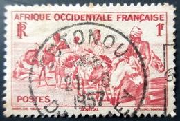 France - Afrique A.O.F - Yt 30  -Oblitération COTONOU 1957 - A.O.F. (1934-1959)