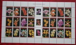 Surinam / Suriname 2007 Orchideen Bloemen Orchids Orchidee Flower Fleurs (ZBL 1419-1430 Mi 2090-2101) POSTFRIS / MNH ** - Surinam