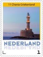Nederland  2016-11 VUURTOREN LIGHTHOUSE LEUCHTURM  CHANIA GREECE Postsfris/neuf/mnh - Period 1980-... (Beatrix)