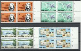 SANTA LUCIA   YVERT  477/80  (B4)  MNH  ** - St.Lucie (1979-...)