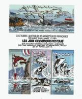 VP4L9 TAAF FSAT Antarctique Antarctic Neuf°° MNH Bloc 7  Bande Dessinée Jeux Olympiques 2002 - Blocs-feuillets
