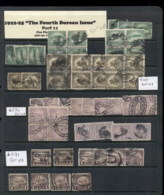USA 1920's On Assorted Oddments Fourth Bureau Issues 16 Scans - Stamps