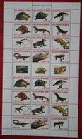 Surinam / Suriname 2007 Turtle Schilpad Reptielen Reptiles Crocodile (ZBL 1437-1448 Mi 2108-2119) POSTFRIS / MNH ** - Surinam