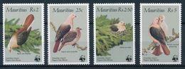 WWF - MAURITIUS - BIRDS  -  1985 - 4  V. -MNH  - - W.W.F.