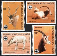 WWF -  NIGER  - ORYX - 1985  - 4  V. -MNH  - - W.W.F.
