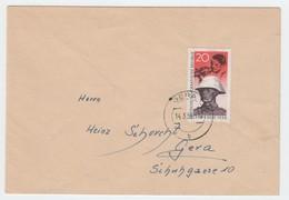 DDR , Brief Mit Pappchinesen , Gestempelt 1959 - DDR