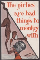 The Girlies Are Bad Things To Monkey With , 1911 - Apen