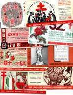 """Booklets Tuberculosis / Tuberculose / """"Campagna Antitubercolare"""" / """"Contro La Tubercolosi"""" - Erinnophilie"""