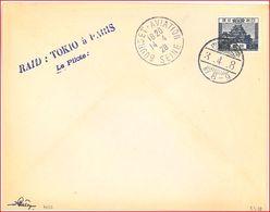 8-14 Avril 1928 - COSTES & LE BRIX Raid : TOKYO à PARIS 16.750 Km En 101 Heures (fin Du Tour Du Monde) - Primi Voli