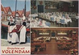 CPM - VOLENDAM - Café Restaurant A.M.V.O. - Volendam