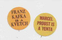 Postcards - Buttons - Hero's - Franz Kafka - New - Postcards