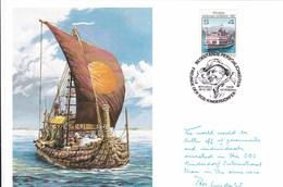 SOS Kinderdorf Berühmte Persönlichkeiten Thor Heyerdahl 1987 - Austria