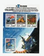 VP4L9 TAAF FSAT Antarctique Antarctic Neuf°° MNH 2000 Bloc 4  Bande Dessinée 3eme Millénaire - Blocs-feuillets