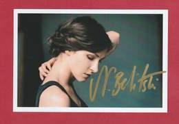 Natalie Belitzki (deutsche Schauspielerin), Signierte Originalautogrammkarte - Autographs