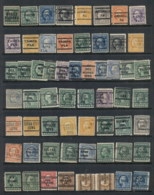 USA 1908-1919 Washington Franklin Precancels T&C Assortment, Mississippi 2 Scans - Stamps