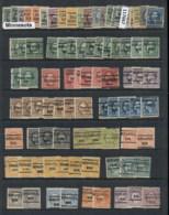 USA 1908-1919 Washington Franklin Precancels T&C Assortment, Minnesota 3 Scans - Stamps