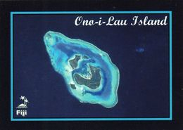 1 AK Fiji * Blick Auf Ono-i-Lau - Luftbildaufnahme Diese Atolls * - Fidschi