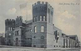 TROY NEW YORK~STATE MILITARY ARMORY-P J SHEA PHOTO POSTCARD 35475 - Other