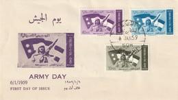 IRAQ / IRAK - FDC - Journée De L'Armée 1959 - Iraq