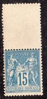 """""""Type Sage"""" N° 90 Neuf ** Gomme D'Origine Sans Charnière à 15 % De La Cote  TT6 - 1876-1898 Sage (Tipo II)"""