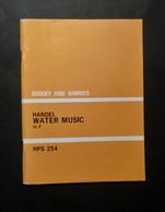 Musica Spartiti - Boosey And Hawkes - Handel - Water Music In F - HPS 254 - Vecchi Documenti