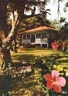 1 AK Französisch-Polynesien / French Polynesia * Maison Dans Le District - Ansicht Der Insel Tahiti - IRIS Karte 133 * - Französisch-Polynesien