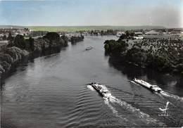 Aubevoye - Les Bords De Seine - Péniches - Aubevoye