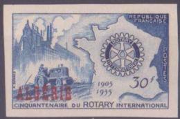 Algérie Non Dentelés N° 328 Rotary 1955 Qualité: ** Cote: 76 € - Algérie (1924-1962)